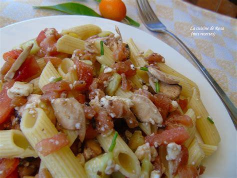 salade de p 194 tes au saumon fum 201 ensalada de pasta al salmon ahumado la cuisine de rosa mes