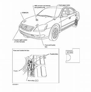 I Have A 2004 Nissan Altima And I Am Trying To Find The Ignition Switch Fuse  We Do Not Have A