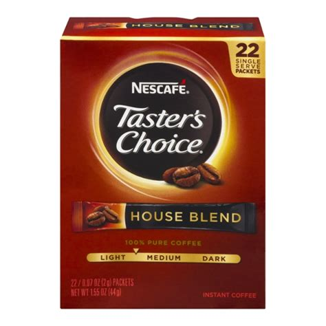 The histo1y of instant coffee in australia goes back to world war ii. Save on Nescafe Taster's Choice House Blend Instant Coffee Packets - 18 ct Order Online Delivery ...