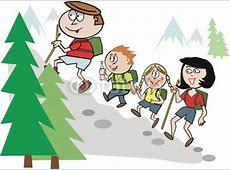 Family Going On A Hike Clipart Clipart Suggest