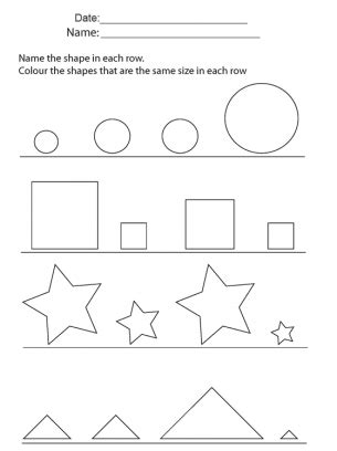 shapes  sorting repin  share  learning