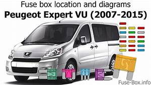 Fuse Box Location And Diagrams  Peugeot Expert Vu  2007