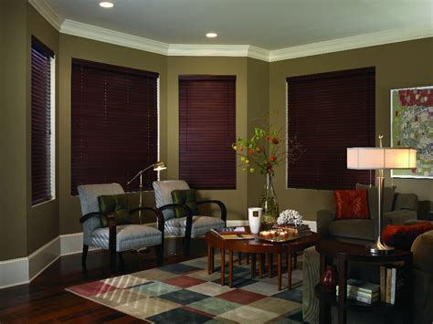 faux wood blinds  blind mice window coverings