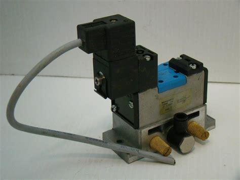 festo solenoid valve 159688 151 24vdc 10bar p302 mn1h 5 2 d 1 c ebay