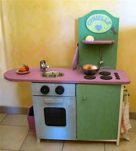 Cuisine Enfant En Bois : cuisine en bois enfant ~ Teatrodelosmanantiales.com Idées de Décoration