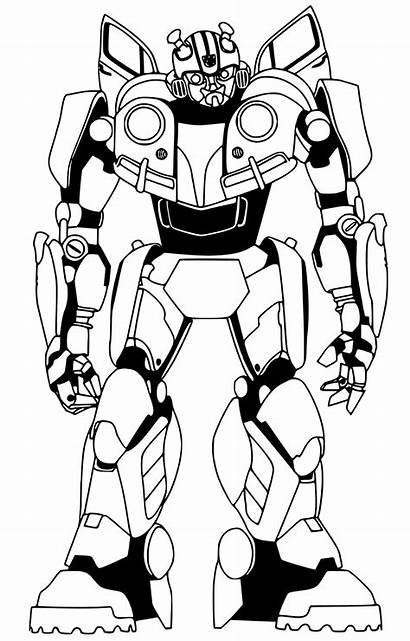 Bumblebee Coloring Pages Transformer Transformers Prime Optimus