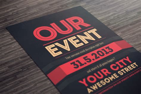 grand opening flyer templates  word psd ai