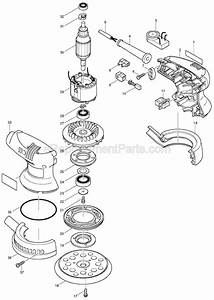 Makita Bo5012 Parts List And Diagram   Ereplacementparts Com
