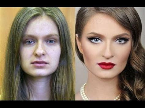 Фото девушек до и после макияжа Экспресс газета