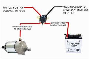 Basic Starter Solenoid Wiring Diagram Picture