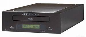 Audio Analogue Primo Cd - Manual