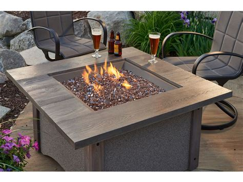 Outdoor Greatroom Pine Ridge Square Fire Pit Table With Christmas Crafts For Preschoolers To Give As Gifts Ftd Centerpieces Clear Ball Ornament Do It Yourself Table Make Sale Bulbs Crafting Easy Classroom