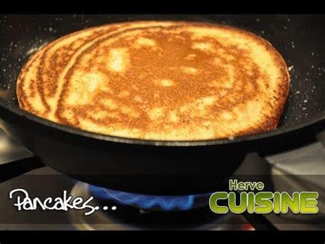 recette cuisine recette facile des pancakes moelleux par hervé cuisine