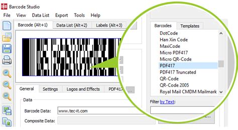 Data Matrix Barcode Generator