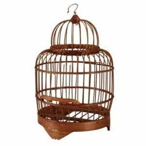 Cage Oiseau Deco : lot 2 cages oiseaux deco en bois bambou decoration maison jardin fleur ~ Teatrodelosmanantiales.com Idées de Décoration
