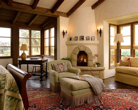 sitting area  arched fireplace bedroom desk sitting area