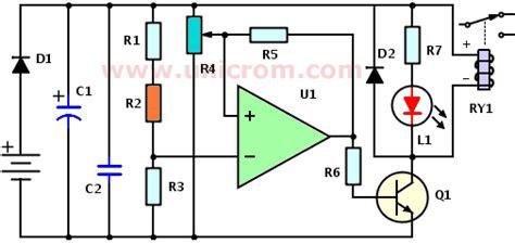detector de oscuridad sonoro   electronica unicrom
