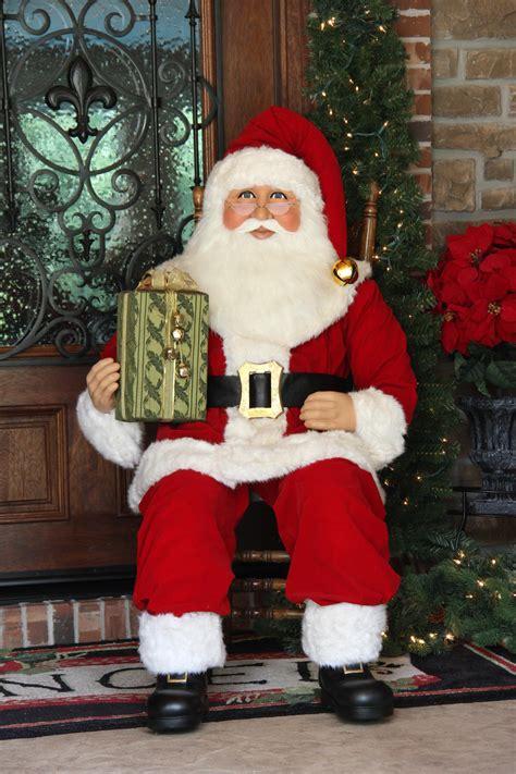karen didion originals sc  foot sitting santa