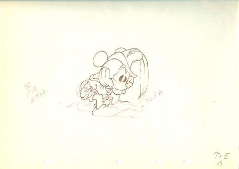 disney animation art cartoon cels  disney drawiings