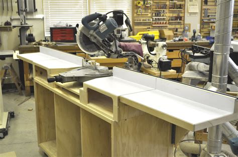 make a table saw table how to build a miter saw table step by step impossible