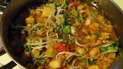 cuisine vietnamienne facile recette de soupe du pêcheur à la vietnamienne
