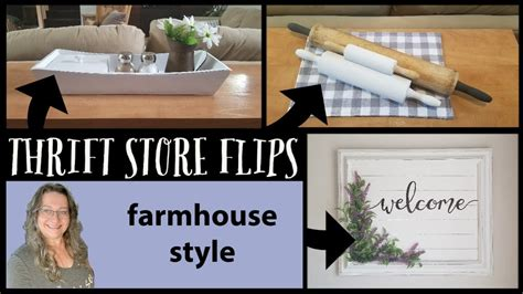 We have unique home decor, baskets, kitchen glassware and china, toys, sporting equipment and sports wear! Thrift Store Flips~Farmhouse Home Decor~Trash to Treasure ...