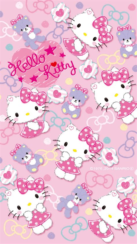 The live wallpaper is decorated using familiar hello kitty themed patterns, with a cute, traditional style! Android Wallpaper HD Hello Kitty Characters - 2020 Android Wallpapers