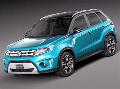 Suzuki Models by 3d 2015 Suzuki Vitara Model
