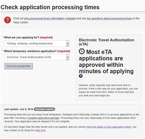 eta processing times   vancouvers immigration blog