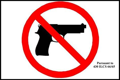 Tennessee No Firearms Allowed Sign By Safetysign.com