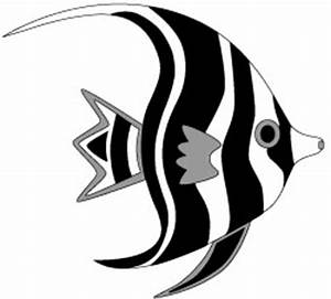 Tropical Fish - Angel Fish Clip Art Image (Free printables)