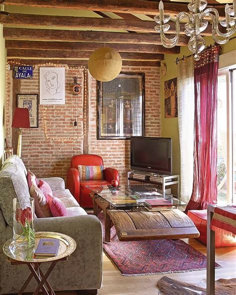 boho chic apartment decor chic bohemian attic apartment in madrid 171 interior design files