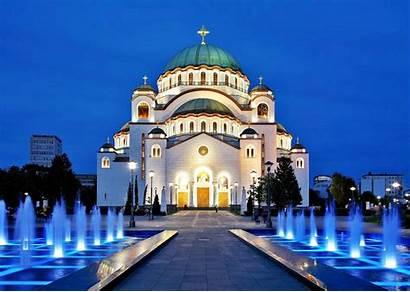 Sava Belgrade Cathedral Serbia Sveti Saint Tourist