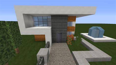 Minecraft Modernes Haus Akazieweiß Bauen Tutorial