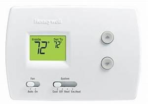 Honeywell Rth3100c1002 Digital Heat  Cool Pump Thermostats