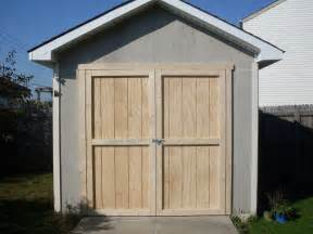 Pre Built Sheds Ohio by Replacement Shed Doors For Purchase Pilotproject Org