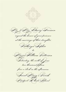 traditional wedding invitation wording theruntimecom With traditional wedding invitation wording