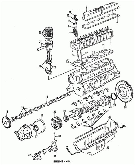 Ford F 150 Distributor Diagram by 1991 Ford F150 Engine Diagram Automotive Parts Diagram