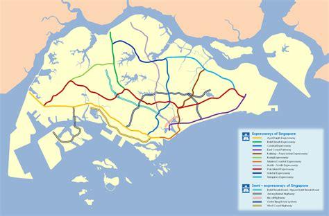 Expressways Of Singapore