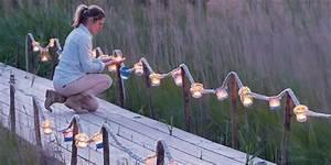 Guirlande Lumineuse Jardin : fabriquer une guirlande lumineuse pour son jardin marie claire ~ Melissatoandfro.com Idées de Décoration