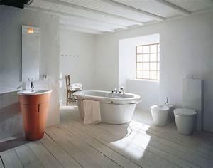 salle de bain pierre et bois une beaute naturelle With salle de bain design avec vasque en pierre blanche