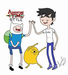 ADVENTURE TIME STYLE CHRIS THE HUMAN by ChrisAnimas on ...