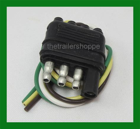 2 Pole Wire Harnes by Trailer End Light Wiring Harness Bonded Flat 4 Way Pole