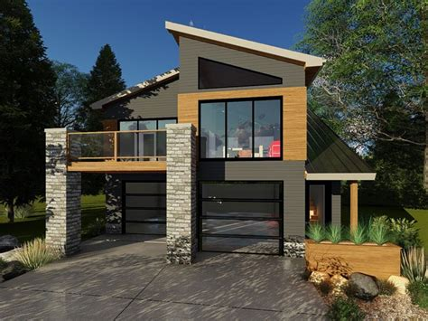 Contemporary Garage Designs by Garage Apartment Plans Modern Carriage House Plan 050g