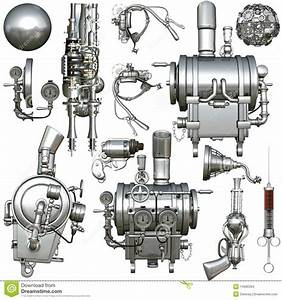 Cyborg Parts Stock Illustration  Illustration Of Device