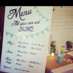 BBQ Wedding Menu Ideas