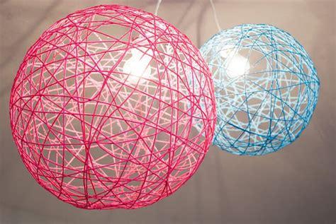 yarn orb light fixtureslove   kids room  cool