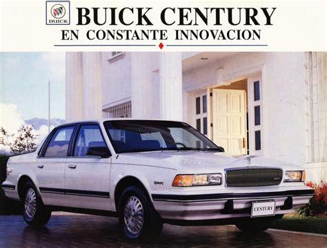 old car manuals online 1986 buick century instrument cluster 1994 buick century brochure