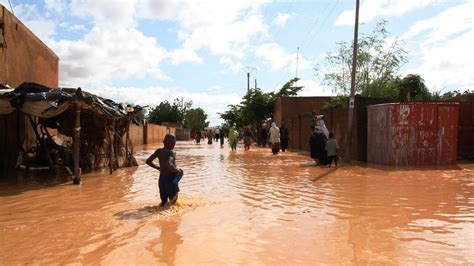 niger flooding kills  displaces    june