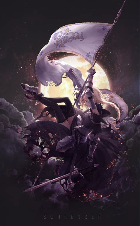 joan alter fategrand order zerochan anime image board